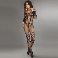 Corsetti Siriana Bodystocking Black UK Size 8 to 12