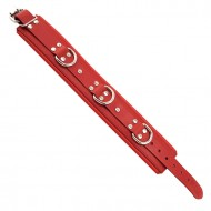Rouge Garments Red Padded Collar